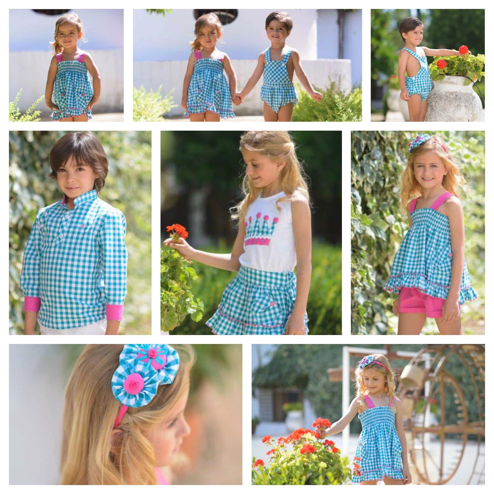 La ormiga primavera verano 2016 ropa de ni os y ni as for Jardin infantil verano 2016