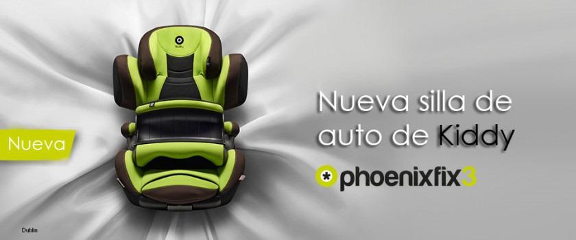 Silla de auto kiddy phoenixfix 3 for Sillas para auto ninos 9 anos