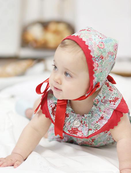 298ae6816 Vestido para niña Flores de Foque