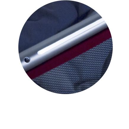 Barrera de cama con doble función